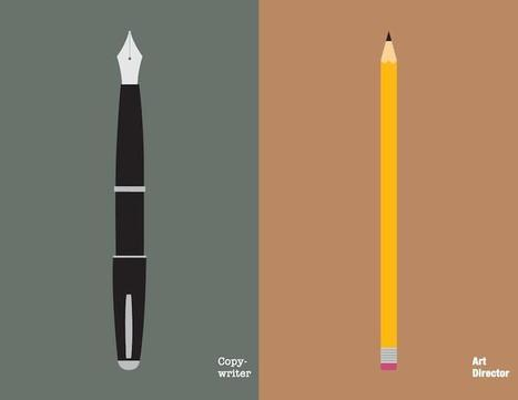 17 Clever Illustrations That Show The Differences Between Copywriters And Art Directors | Graphic Design | Scoop.it