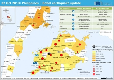 22 Oct 2013: Philippines – Bohol earthquake update | ReliefWeb | Philippines | Scoop.it