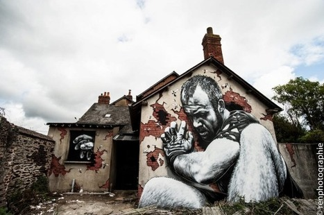 25 Amazing Examples of Street Art | Smartnetzone | Art! | Scoop.it