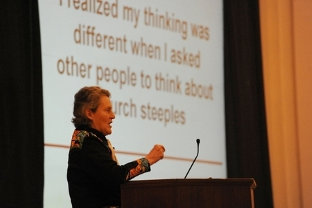Temple Grandin's presentation on autism at University of Redlands packs house - Redlands Daily Facts | Autism News and research | Scoop.it