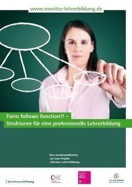 News: Neue Publikation zeigt Strukturen der hochschulinternen Koordination der Lehrerbildung | Beruf: Lehrer | Scoop.it