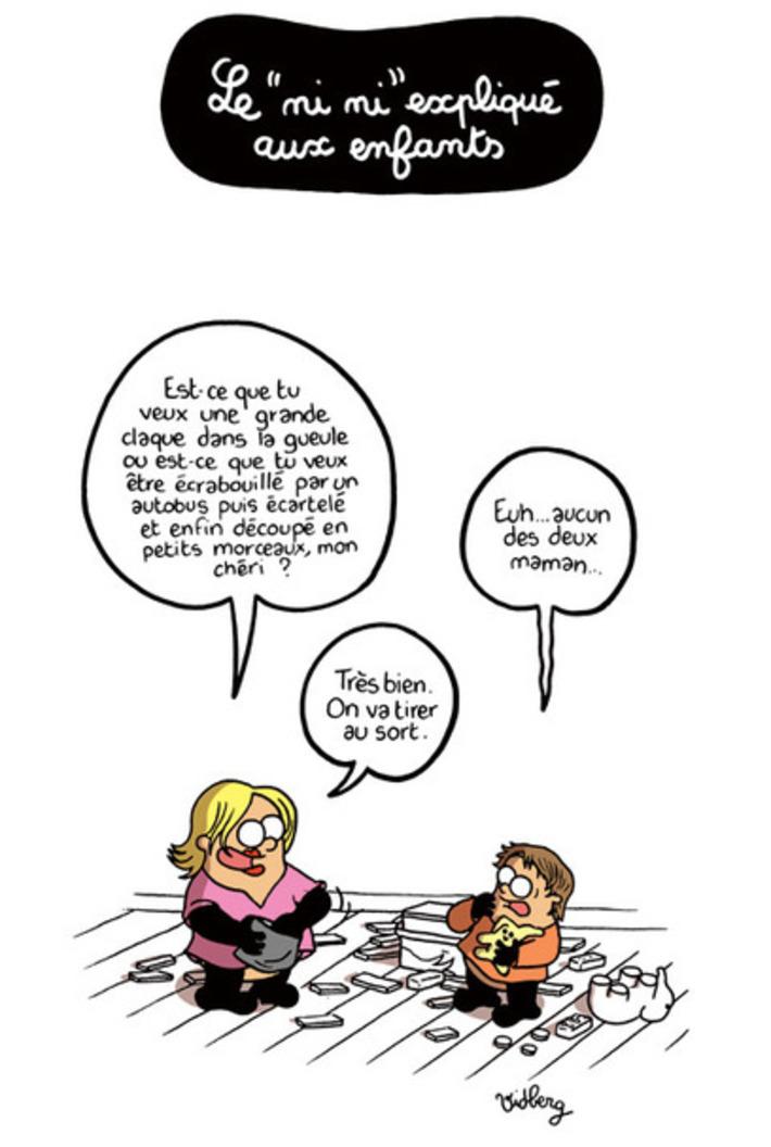 Le «ni ni» expliqué aux enfants | Baie d'humour | Scoop.it