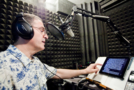 Audiobook narrator takes on many roles - The Riverdale Press   Audiobooks   Scoop.it
