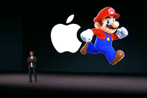 Nintendo ouvre la keynote d'Apple avec une surprise : Mario arrive sur iPhone et iOS ! | Pacman Syndrome | Scoop.it