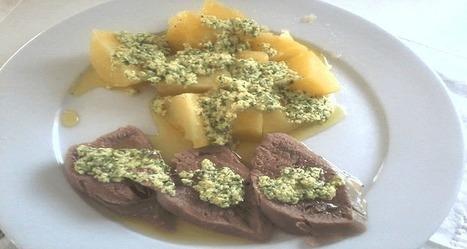 Langue de bœuf recette sauce vinaigrette persillée | Ma boite à pêche | Scoop.it