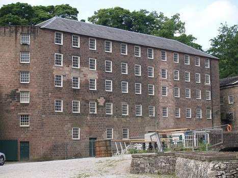 Cromford Mills, the conservation of 'Building 17' by Marcus Stanton - News in Conservation, Issue 40, February 2014 | News in Conservation | Scoop.it