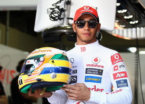 Hamilton says F1 legend Senna inspired his style of driving | formula 1 | Scoop.it