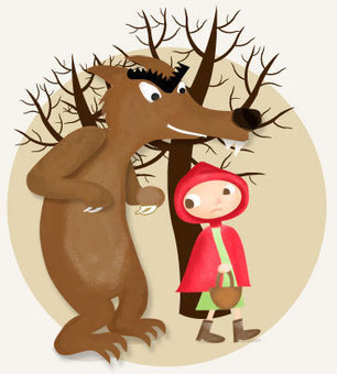 Le Petit Chaperon Rouge - Learn French with French Children's Stories | French Stories | Scoop.it