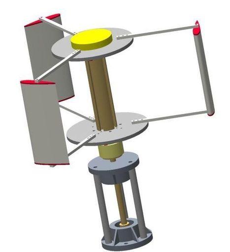 Un aerogenerador para zonas remotas y ambientes familiares | Educacion, ecologia y TIC | Scoop.it