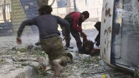 Syrische rebellen voeren nonnen weg uit veroverd dorp | yassine | Scoop.it