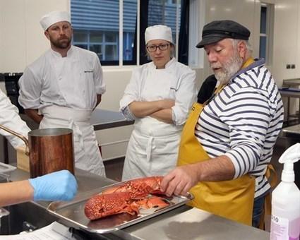 Dan the Fish Man inspires Petroc College students for Seafood Week | Aquaculture Directory | Aquaculture Directory | Scoop.it