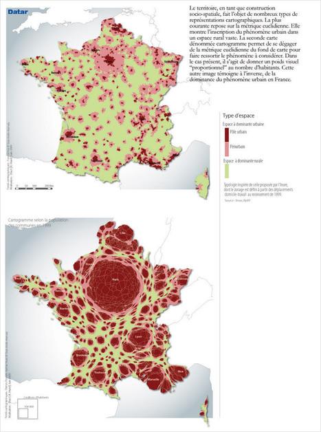 Population et espaces : deux perspectives singulières | Portail de l'Aménagement du Territoire | Le numérique et la ruralité | Scoop.it