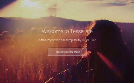 20 Best Free Responsive HTML5 CSS3 Website Templates | Boost Inspiration | Scoop.it