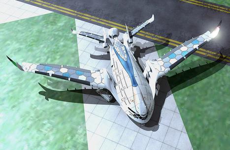 Futuristic Solar-Powered Airplane Concept Imagined for 2030 | Le It e Amo ✪ | Scoop.it
