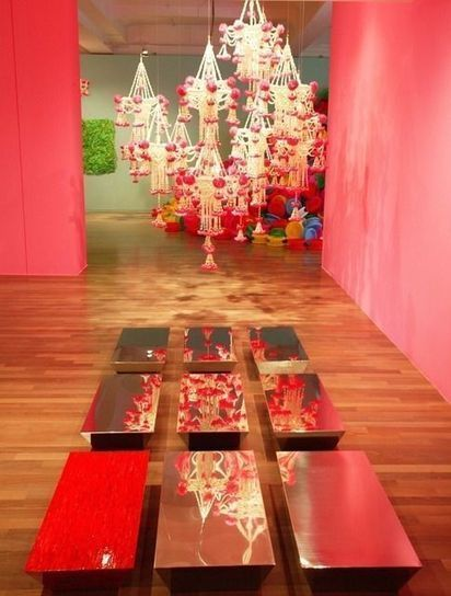 Choi Jeong Hwa | Chandelier, Available for Sale | Artsy | Contemporary Installation Artists | Scoop.it