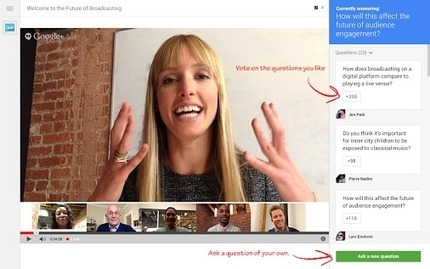 Field and Manage Live Questions During Live Google Hangouts On Air Events | virtual meetings | Scoop.it