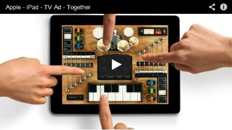 Apple Airs New iPad TV Commercials 'Alive' & 'Together'   PadGadget   iPads in Education   Scoop.it