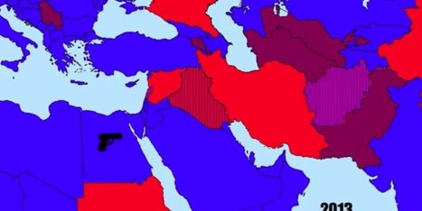 WATCH: U.S. Relations In The Middle East In Less Than 3 Minutes | Geography Portfolio | Scoop.it