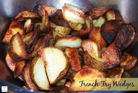 How To Use An Apple Corer To Make Easy Homemade Potato Wedge Fries | Recipedose | Scoop.it