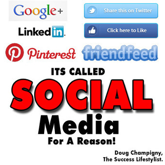 Is Your Social Media Marketing Social Or Just Marketing? | It is all a Journey. | Scoop.it