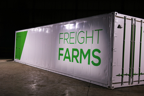 With Water Running Out, Freight Farms Launches 2015Farm-In-A-Box | Vertical Farm - Food Factory | Scoop.it