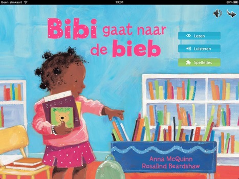 Bibi gaat naar de bieb Interactief kinderboek | learning and reading styles | Scoop.it
