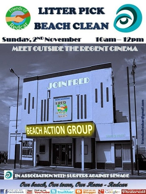 Friends Of Redcar: FRED litter pick November 2014 | Redcar Beach Action Group | Scoop.it