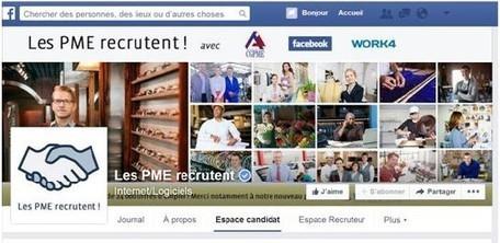 Pôle emploi s'allie à l'initiative « LES PME RECRUTENT ! » sur Facebook | Think outside the Box | Scoop.it