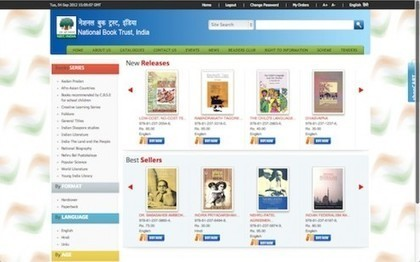 National Book Trust To Launch E-Book Store; Multilingual eBooks | eBooks and libraries | Scoop.it