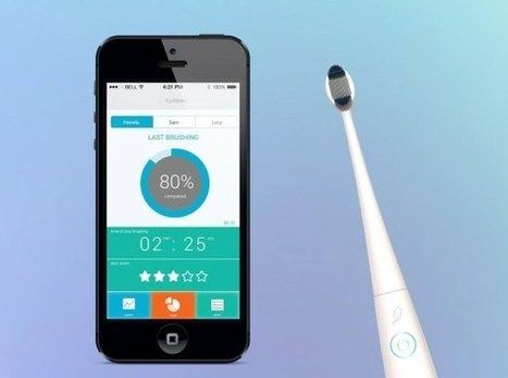 Check out the crazy $99 connected electric toothbrush | Web of Things | Scoop.it