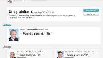 Parlement & Citoyens, software libre para que los franceses escriban sus leyes | TIC en ONGAWA | Scoop.it