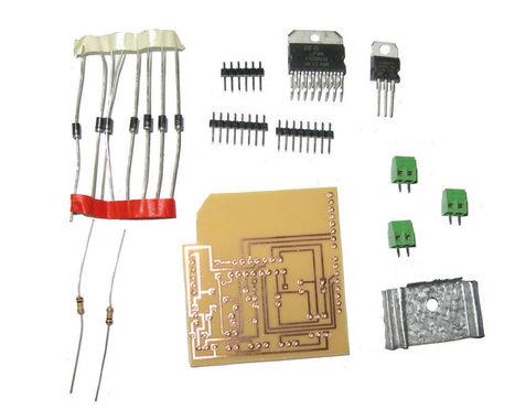 DIY Arduino Motor Shield (L298N Chip 2-4 Amps    w/ PCB Layout)   Arduino, Netduino, Rasperry Pi!   Scoop.it
