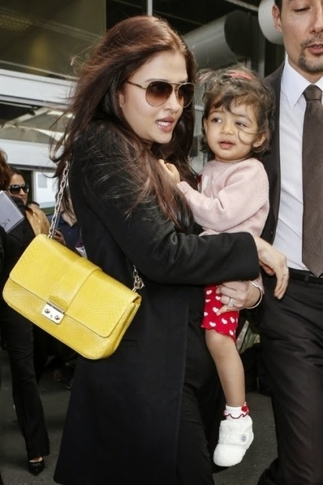 Aishwarya Rai Bachchan With her Daughter - The Bollywood Movies | Hot Celebrities | Scoop.it