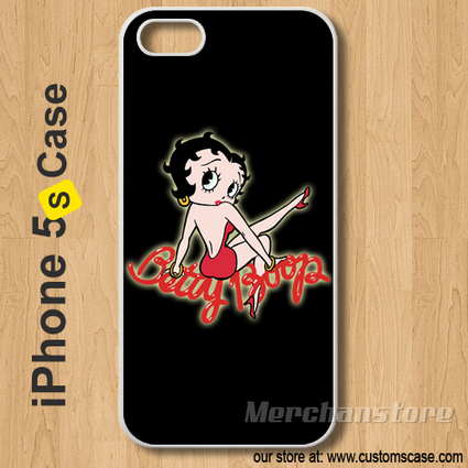 Betty Boop Custom iPhone 5s Case Cover | Merchanstore - Accessories on ArtFire | Custom iPhone 5s Case Cover | Scoop.it