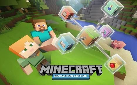Syksyllä kouluissa opiskellaan Minecraftin uuden opetusversion avulla | Digital TSL | Scoop.it