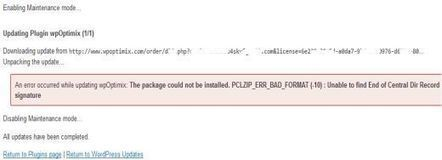 How To Fix WordPress - PCLZIP_ERR_BAD_FORMAT (-10) | Best of me | Scoop.it