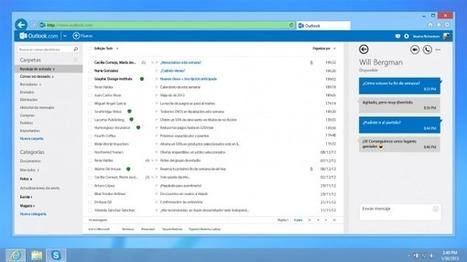 Skype se integra con Outlook.com en todo el mundo | Ultimate Tech-News | Scoop.it
