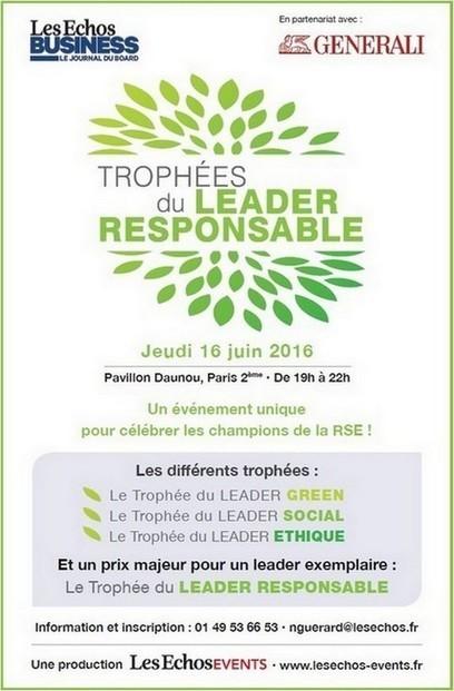 Les champions de la RSE à l'honneur | Génération responsable | Idées responsables à suivre & tendances de société | Scoop.it