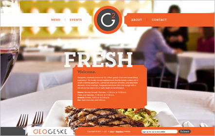 20 Inspiring Food and Drinks Website Designs | Food Web Design Inspiration | Best Web Designs & Wordpress | Scoop.it