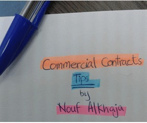 Tips for Commercial Contracts Writing by Nouf AlKhaja | Dana Translation | Scoop.it