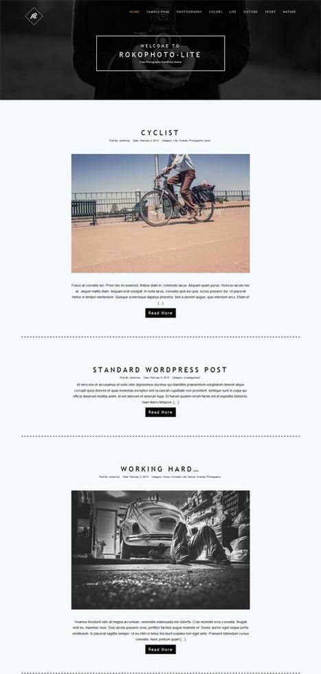 15+ Best Free Photography WordPress Themes | Webtechelp | Scoop.it