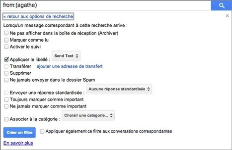 Gmail : comment recevoir par SMS ses e-mails importants ? | Time to Learn | Scoop.it