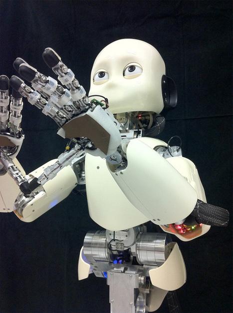 Le bébé humanoïde iCub en vidéo | Actualités robots et humanoïdes | Scoop.it