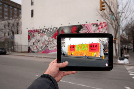 Rethinking Public Space: B.C. Biermann's Augmented Reality Urban Art | MobiLib | Scoop.it