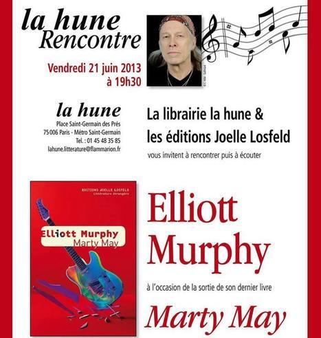 Elliott Murphy à La Hune pour la Fête de la Musique le 21 juin 2013 | Bruce Springsteen | Scoop.it