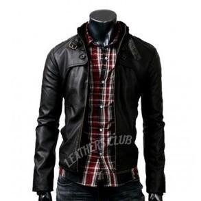 Button Pocket Slim Fit Black Rider Jacket - Halloween Jackets | Halloween Jackets | Scoop.it