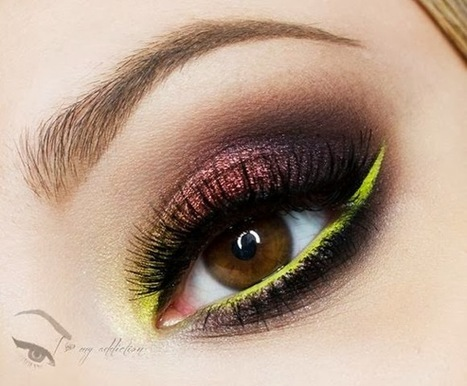 Awesome Autum Makeup Series: Electric Autumn Tutorial ... | makeup | Scoop.it