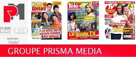 Prisma Media fusionne ses rédactions TV en une newsroom | DocPresseESJ | Scoop.it