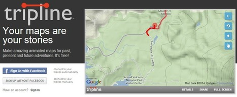 Tripline una buena opción educativa para crear mapas animados | Cajón de sastre Web 2.0 | Scoop.it