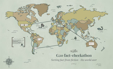 3 lessons from the G20 Summit 'Factcheckathon' | Scoops GGE | Scoop.it